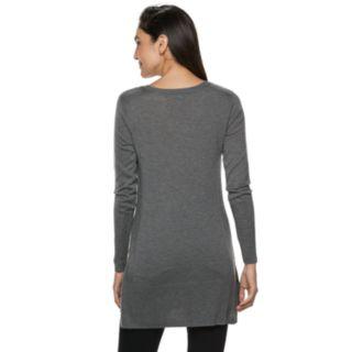 Women's Apt. 9® Ribbed Back Tunic