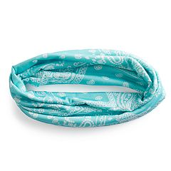 SO® Wide Mint Jersey Headband