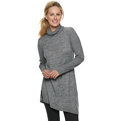 Women's Apt. 9® Asymmetrical Turtleneck Tunic