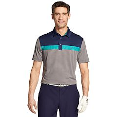 Men's IZOD SwingFlex Classic-Fit Colorblock Performance Golf Polo