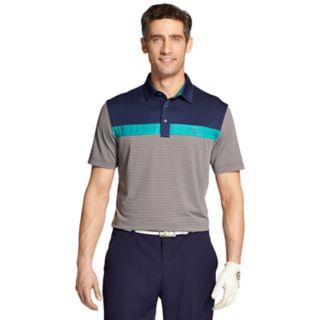 Men's IZOD SwingFlex Classic-Fit Colorblock Performance Golf Polo