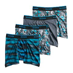 Boys 4-20 Hanes X-Temp 3-Pack + 1 Boxer Briefs
