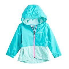 Toddler Girl Columbia Rain-Zilla Jacket