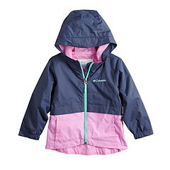 Toddler Girl Columbia Rain-Zilla Jacket