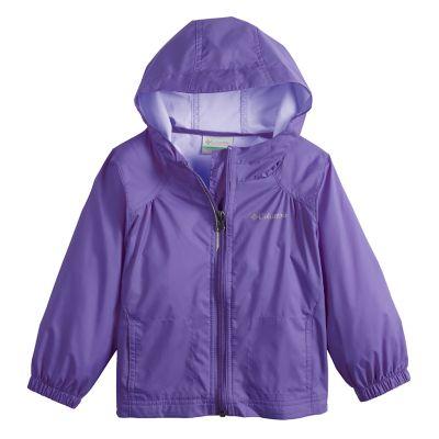 Toddler Girl Columbia Waterproof Rain Jacket