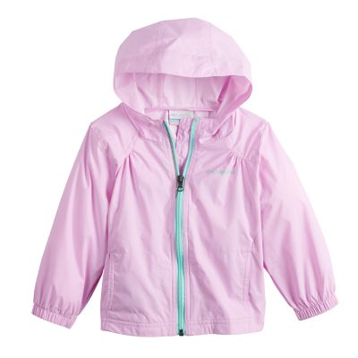 Toddler Girl Columbia Waterproof Rain Jacket