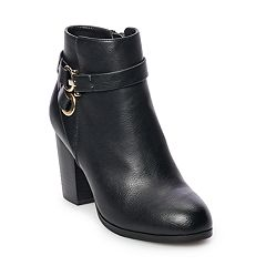 Apt. 9® Fortnight Women's High Heel Ankle Boots
