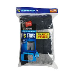 Boys 4-20 Hanes Ultimate 4-Pack + 1 Boxer Briefs