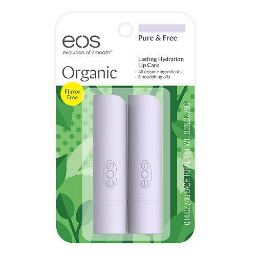 eos 2-pk. Organic Pure & Free Lip Balm