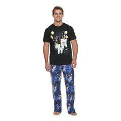 Men's Marvel Deadpool 3 Tee & Sleep Pants Set