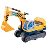 Kid Motorz FTF Tractor With Excavator Ride-On Vehicle