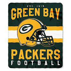 Green Bay Packers Clear Stadium Tote & Throw Blanket Set