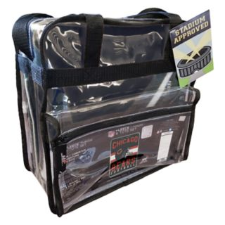 Chicago Bears Clear Stadium Tote & Throw Blanket Set