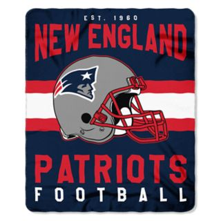 New England Patriots Clear Stadium Tote & Throw Blanket Set