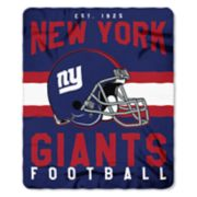 New York Giants Clear Stadium Tote & Throw Blanket Set