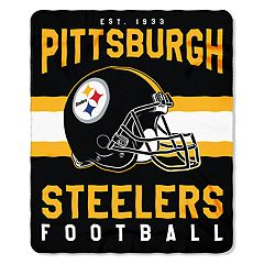 Pittsburgh Steelers Clear Stadium Tote & Throw Blanket Set