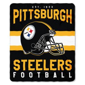 Pittsburgh Steelers Clear Stadium Tote & Throw Blanket Set