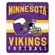Minnesota Vikings Clear Stadium Tote & Throw Blanket Set
