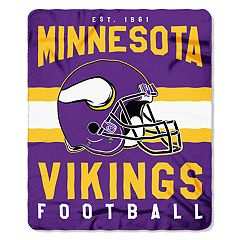 Minnesota Vikings Clear Stadium Tote & Throw Blanket Set