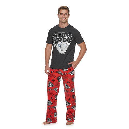 Men's Star Wars Millennium Falcon Tee & Lounge Pants Set