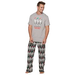 Men's Star Wars Millennium Falcon Stormtrooper Cheer Squad Tee & Lounge Pants Set