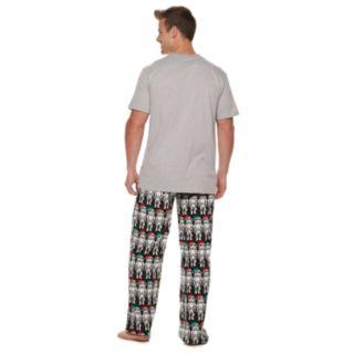 Men's Star Wars Millennium Falcon Stormtrooper Cheer Squad Tee & Lounge Pants Set