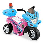 Kid Motorz Lil Patrol Light Pink & Blue Ride-On Vehicle