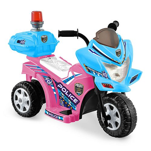 Kid Motorz Lil Patrol Light Pink & Blue Ride-On Vehicle
