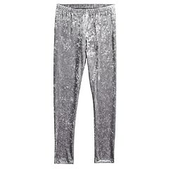 Girls 7-16 SO® Velvet Capri Leggings