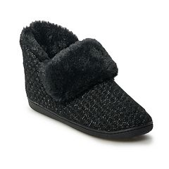 Women's SONOMA Goods for Life™ Sweater Bootie Slipper
