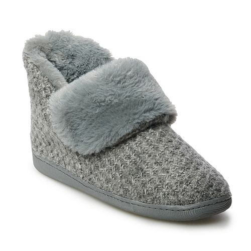 Women's SONOMA Goods for Life™ Sweater Bootie Slipper
