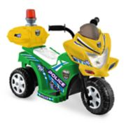 Kid Motorz Lil Patrol Green & Yellow Ride-On Vehicle