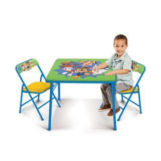 Paw Patrol Activity Table & Chairs Set by Jakks