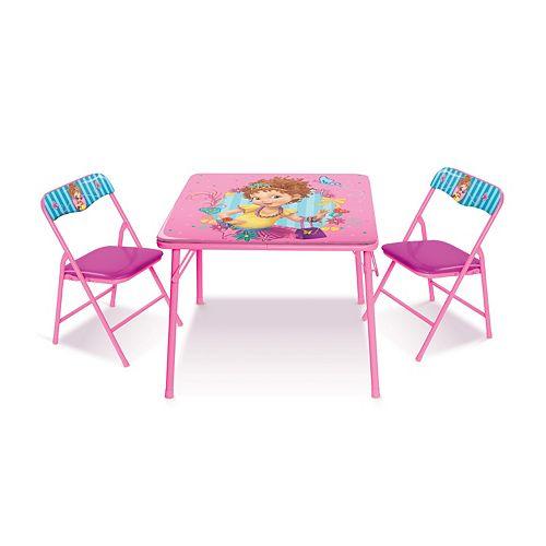 Fancy Nancy Activity Table & Chairs Set by Jakks