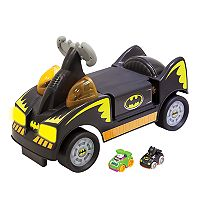 DC Comics Batman Wheelies Ride-On Vehicle by Fisher-Price Deals