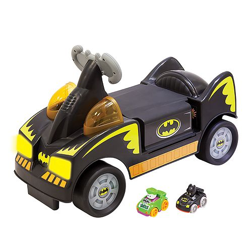DC Comics Batman Wheelies Ride-On Vehicle by Fisher-Price