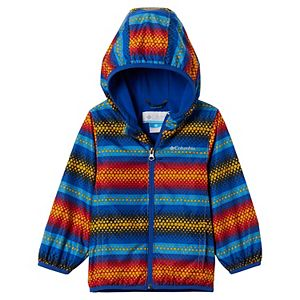 Baby Boy Columbia Mini Pixel Grabber II Wind Hooded Lightweight Jacket