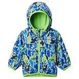 Baby Boy Columbia Mini Pixel Grabber II Wind Hooded Lightweight Jacket