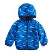 Baby Boy Columbia Mini Pixel Grabber Midweight Hooded Jacket