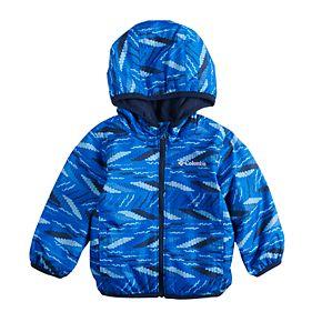 Baby Boy Columbia Mini Pixel Grabber Midweight Hooded Jacket