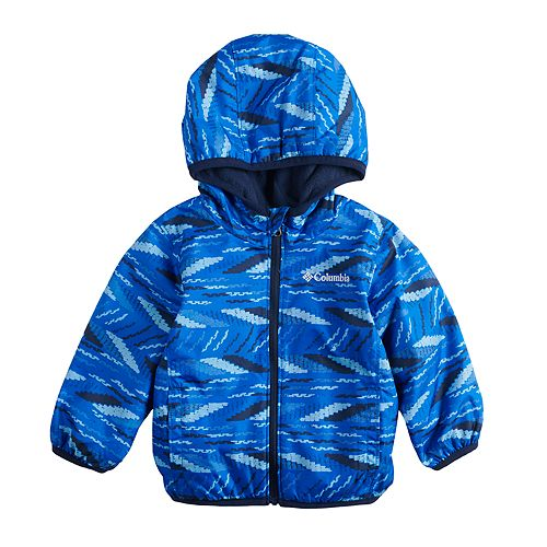 5b4d412e2 Baby Boy Columbia Mini Pixel Grabber Midweight Hooded Jacket