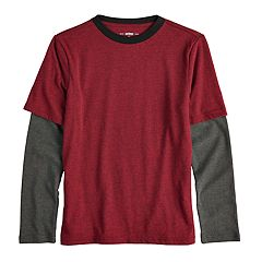 Boys 8-20 Urban Pipeline™ Mock-Layered Tee