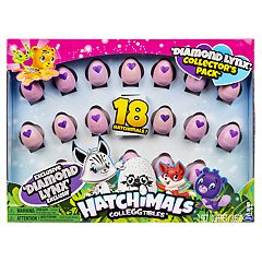 Hatchimals CollEGGtibles Diamond Lynx Collector's 18 Pack