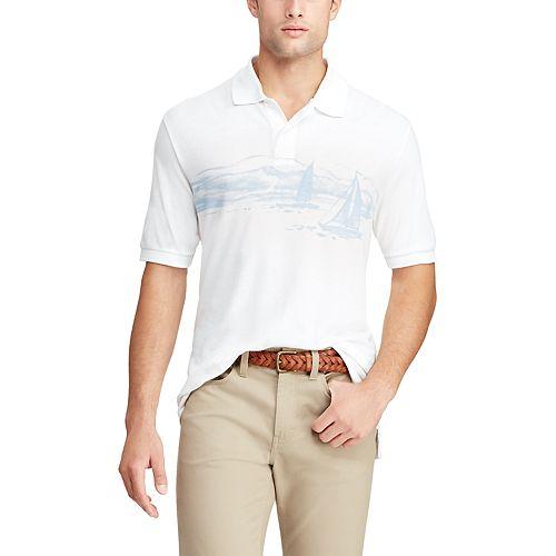 Men's Chaps Classic-Fit Tropical Polo