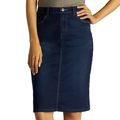 Women's Lee Relaxed Fit Jean Skirt