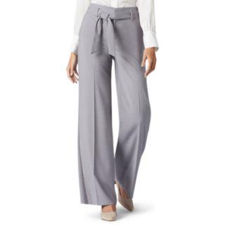 Women's Lee Flex Motion Wide-Leg Twill Pant