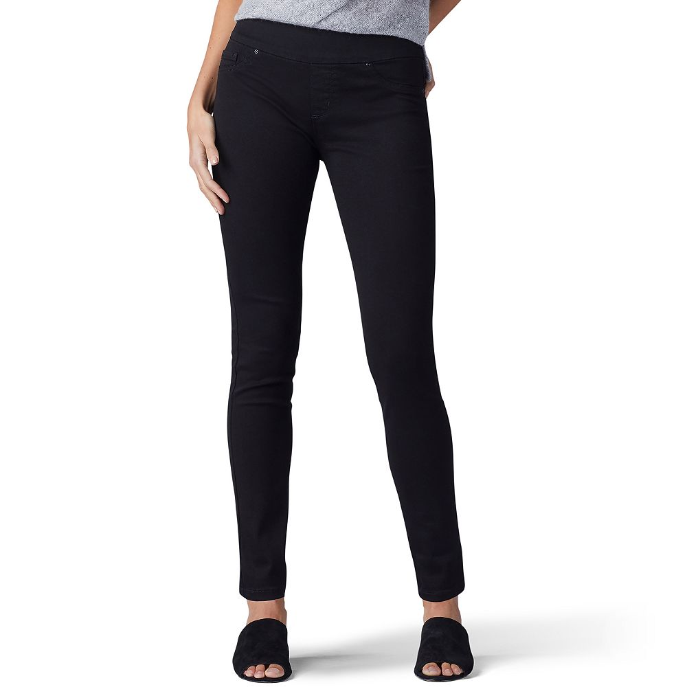Women's Lee® Sculpting Pull-On Mid-Rise Skinny Jeans