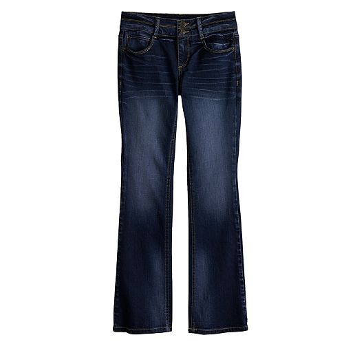 Girls 7 16 Plus Size MuddR Boot Cut Jeans