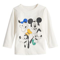 Disney's Mickey Mouse Toddler Boy Donald, Mickey, Goofy & Pluto Softest Graphic Tee by Jumping Beans®