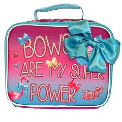Kids JoJo Siwa Glittery Bow Lunch Bag